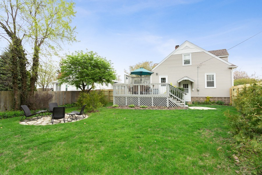 Real Estate Photography - 108 S. Barton, New Buffalo, MI, 49117 - Rear View