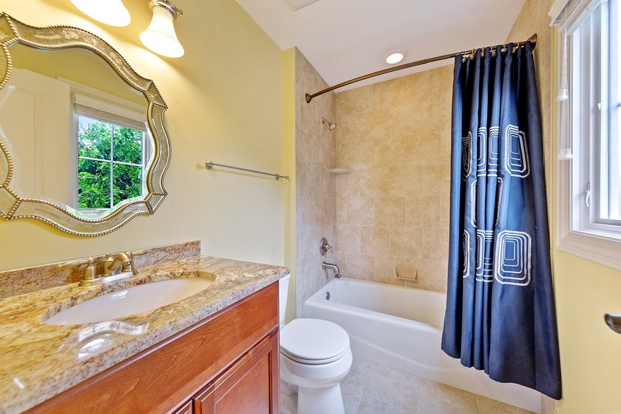 Real Estate Photography - 109 4th Street, Downers Grove, IL, 60515 - 3rd Bathroom