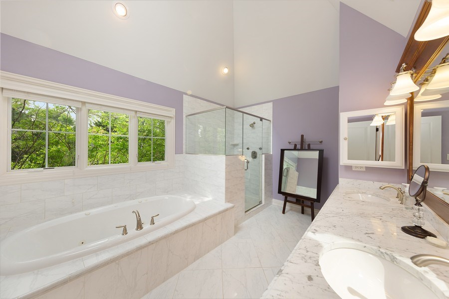 Real Estate Photography - 109 4th Street, Downers Grove, IL, 60515 - Master Bathroom