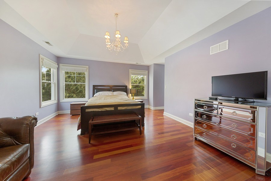 Real Estate Photography - 109 4th Street, Downers Grove, IL, 60515 - Master Bedroom