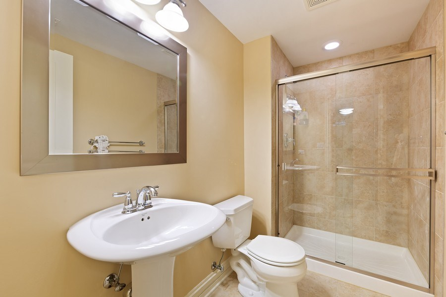 Real Estate Photography - 109 4th Street, Downers Grove, IL, 60515 - Bathroom