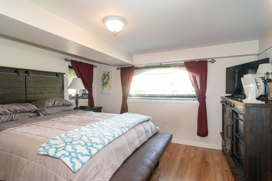 Real Estate Photography - 1820 Euclid, Berwyn, IL, 60402 - Master Bedroom