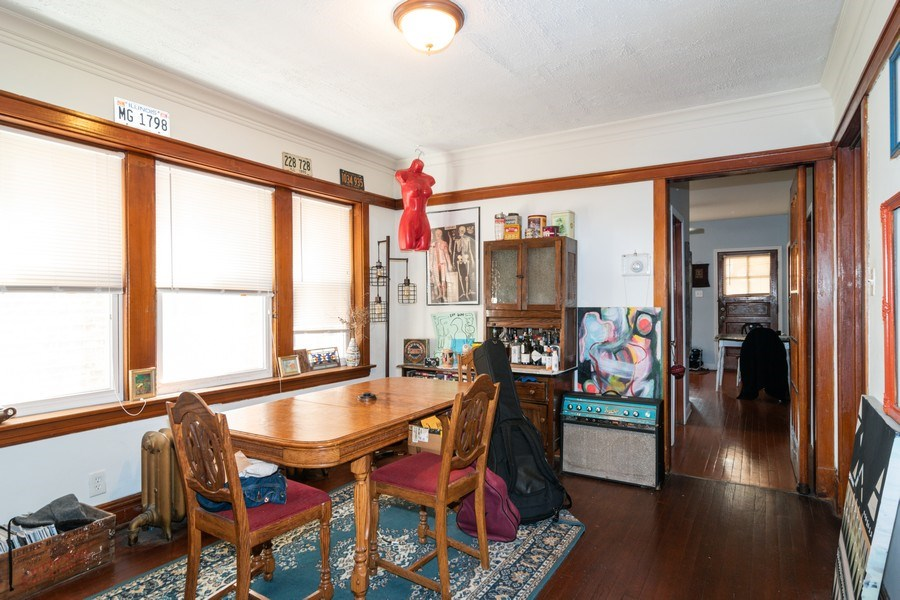 Real Estate Photography - 1820 Euclid, Berwyn, IL, 60402 - Dining Room