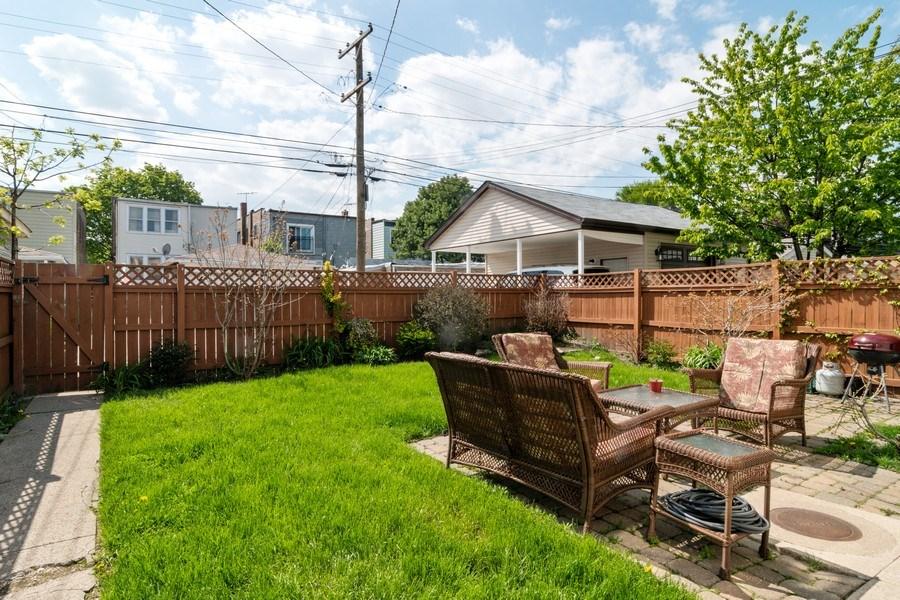 Real Estate Photography - 1820 Euclid, Berwyn, IL, 60402 - Back Yard