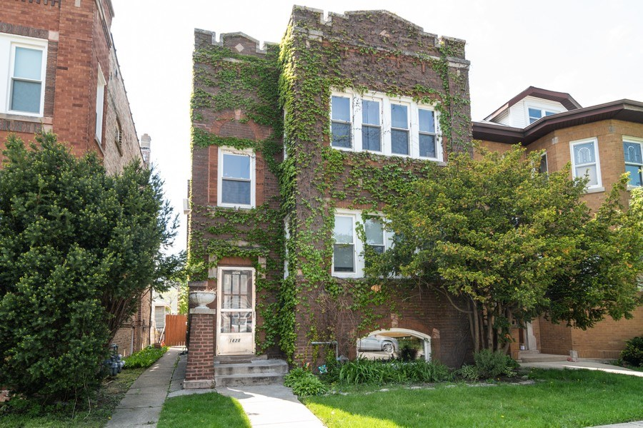 Real Estate Photography - 1820 Euclid, Berwyn, IL, 60402 - Front View
