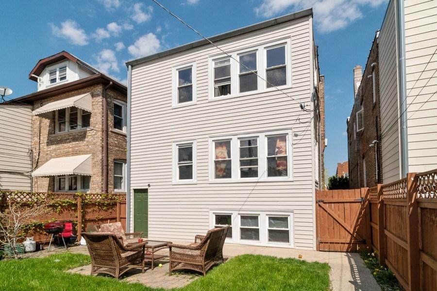 Real Estate Photography - 1820 Euclid, Berwyn, IL, 60402 - Rear View