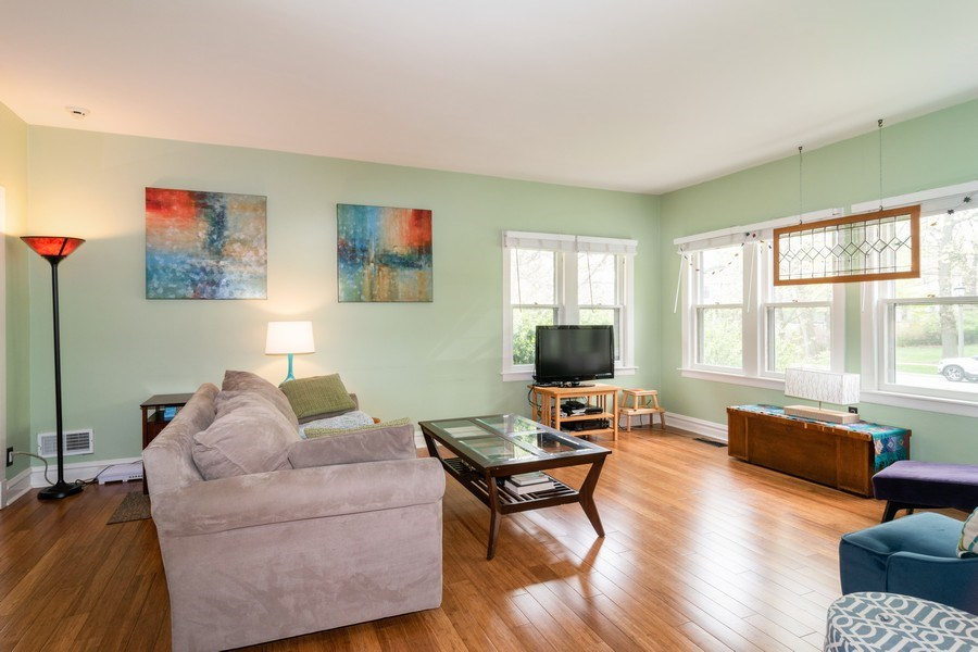 Real Estate Photography - 27 Keystone Ave., River Forest, IL, 60305 - Living Room