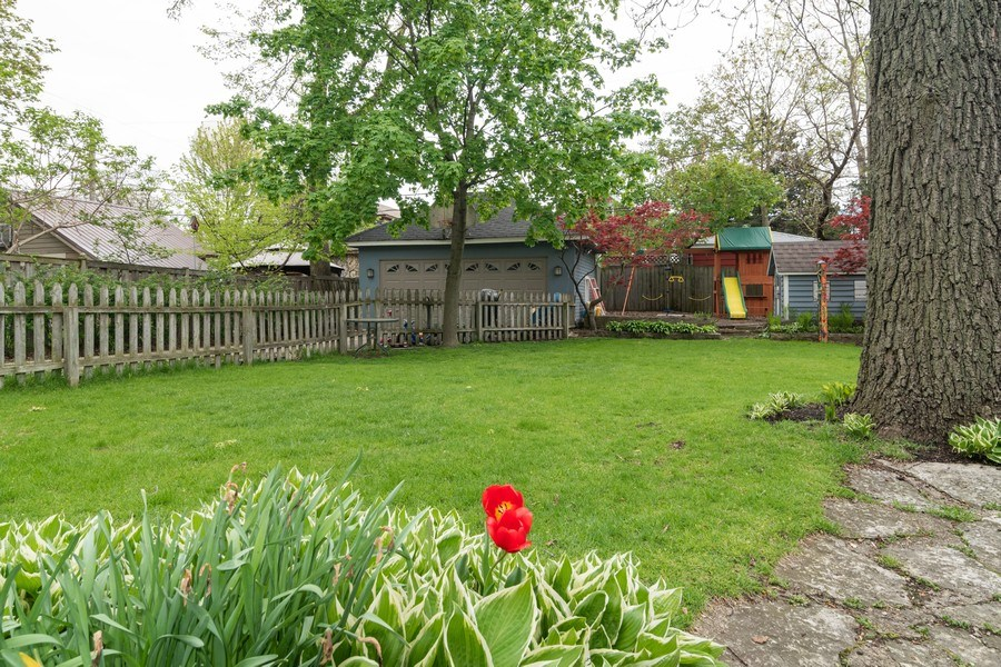 Real Estate Photography - 27 Keystone Ave., River Forest, IL, 60305 - Back Yard
