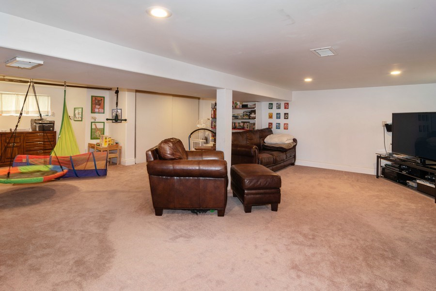Real Estate Photography - 27 Keystone Ave., River Forest, IL, 60305 - Family Room
