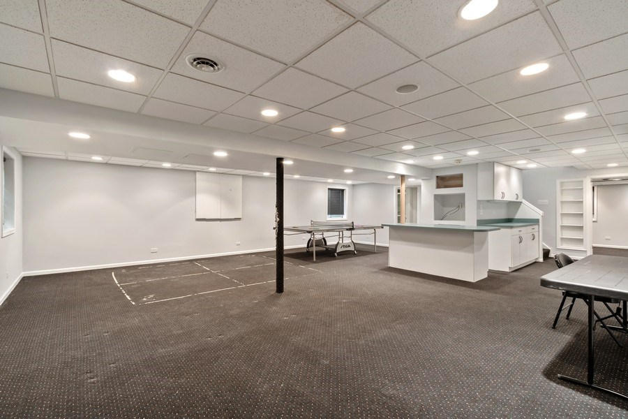 Real Estate Photography - 1924 Beverly, Buffalo Grove, IL, 60089 - Basement