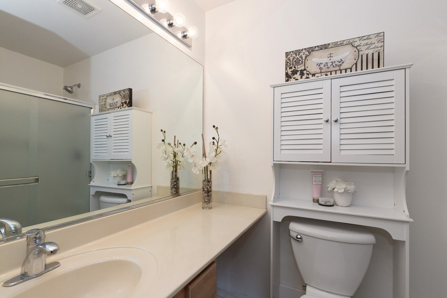 Real Estate Photography - 770 S Providence, Round Lake, IL, 60073 - Master Bathroom
