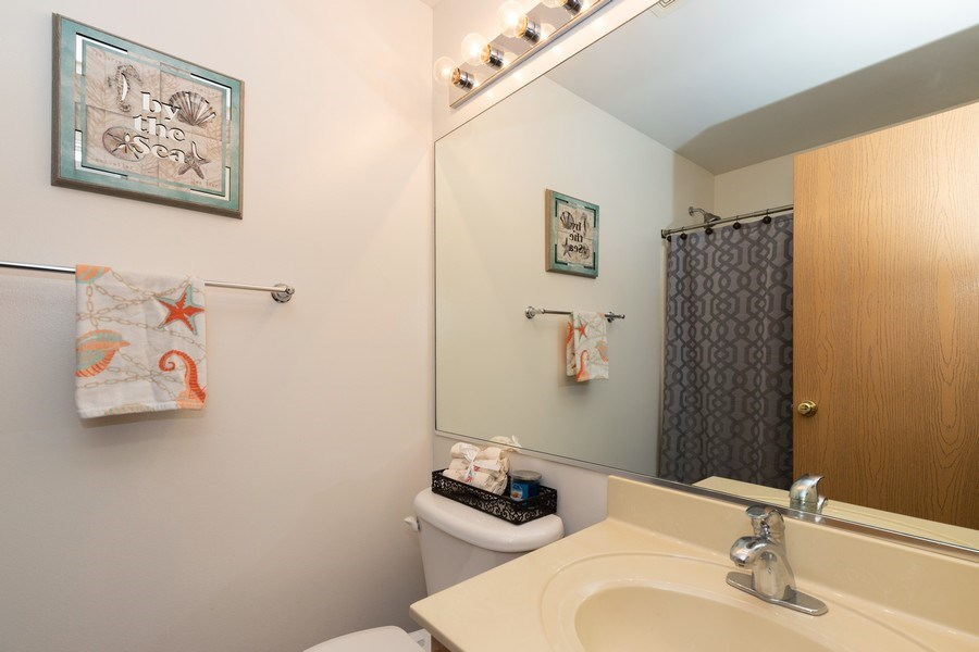Real Estate Photography - 770 S Providence, Round Lake, IL, 60073 - 2nd FULL BATH