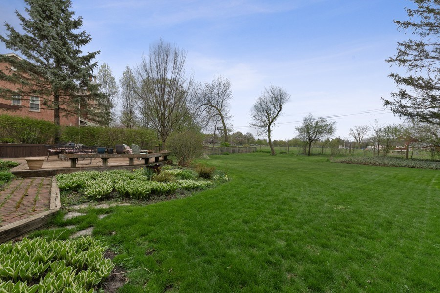 Real Estate Photography - 1509 Kaywood Ln, Glenview, IL, 60025 - Back Yard