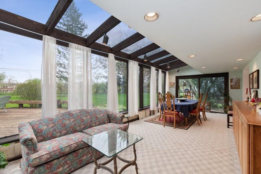 Real Estate Photography - 1509 Kaywood Ln, Glenview, IL, 60025 - Sun Room