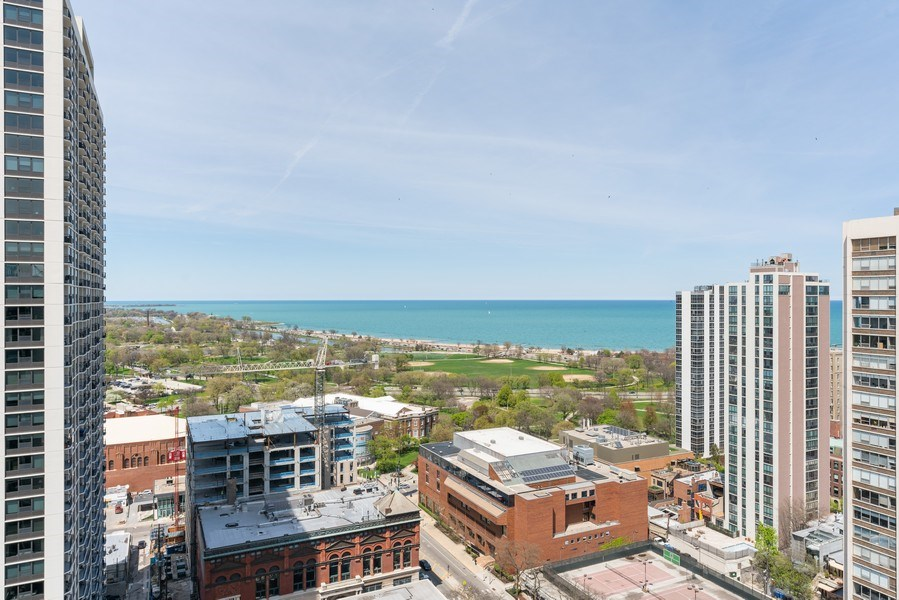 Real Estate Photography - 1460 N Sandburg Ter, Unit 2806, Chicago, IL, 60610 - View