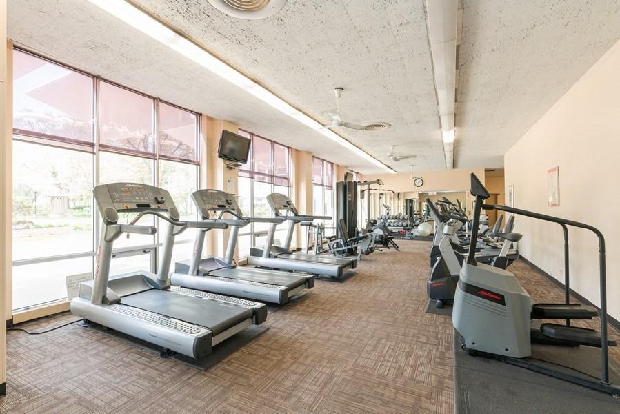 Real Estate Photography - 1460 N Sandburg Ter, Unit 2806, Chicago, IL, 60610 - Gym