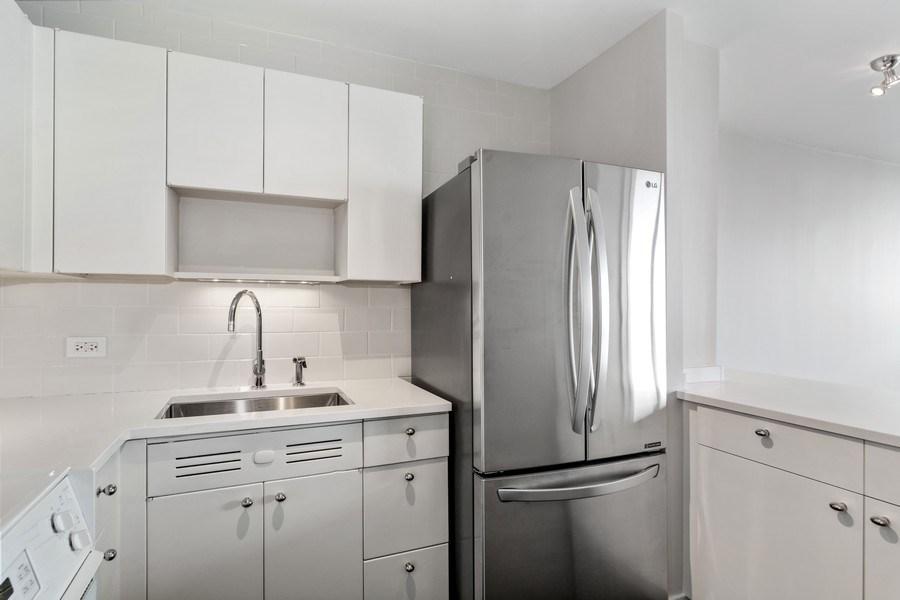 Real Estate Photography - 1460 N Sandburg Ter, Unit 2806, Chicago, IL, 60610 - Kitchen