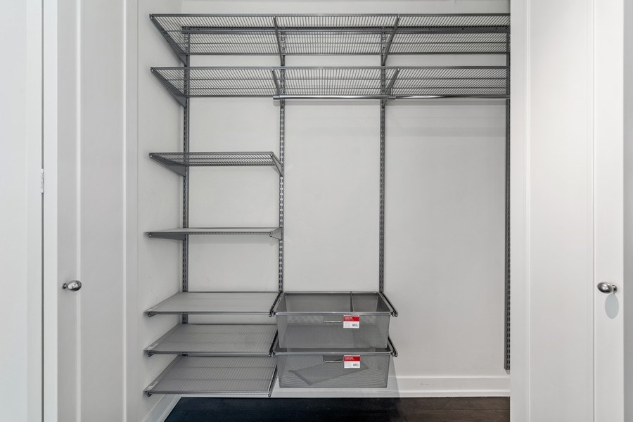 Real Estate Photography - 1460 N Sandburg Ter, Unit 2806, Chicago, IL, 60610 - Closet
