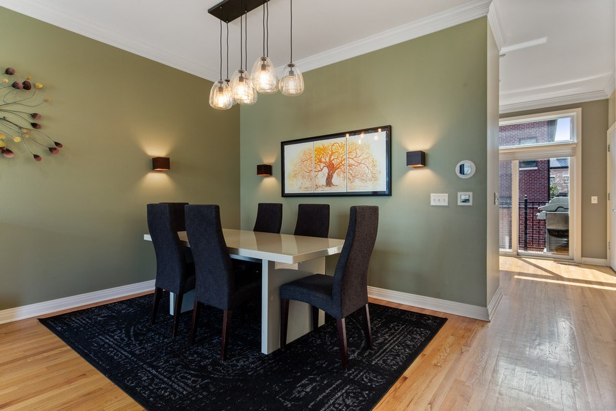 Real Estate Photography - 2656 N Hermitage Ave, Chicago, IL, 60614 - Dining Room