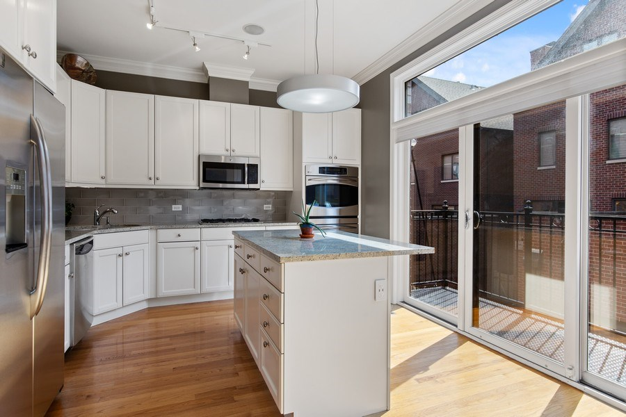 Real Estate Photography - 2656 N Hermitage Ave, Chicago, IL, 60614 - Kitchen