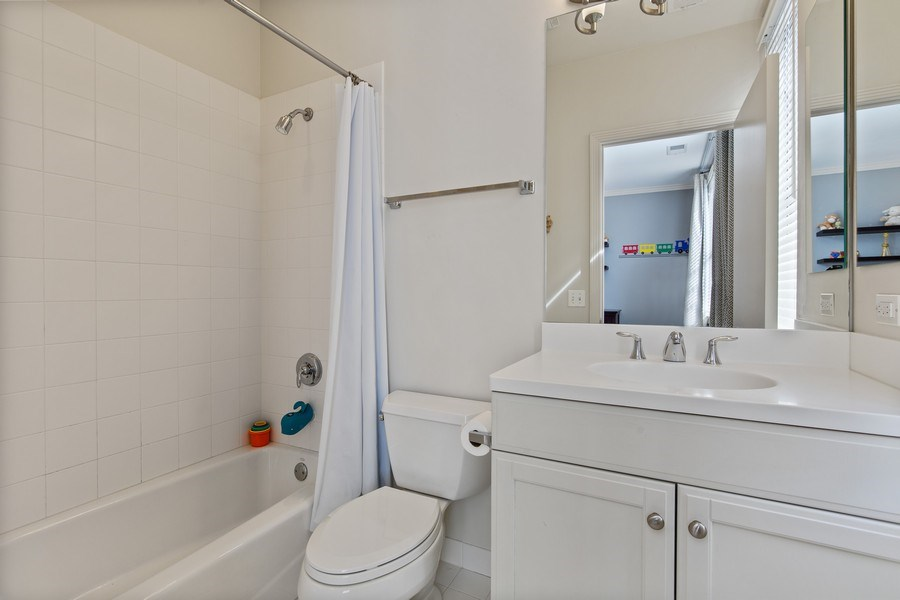 Real Estate Photography - 2656 N Hermitage Ave, Chicago, IL, 60614 - Full Bathroom #1 (off 2nd Bedroom)