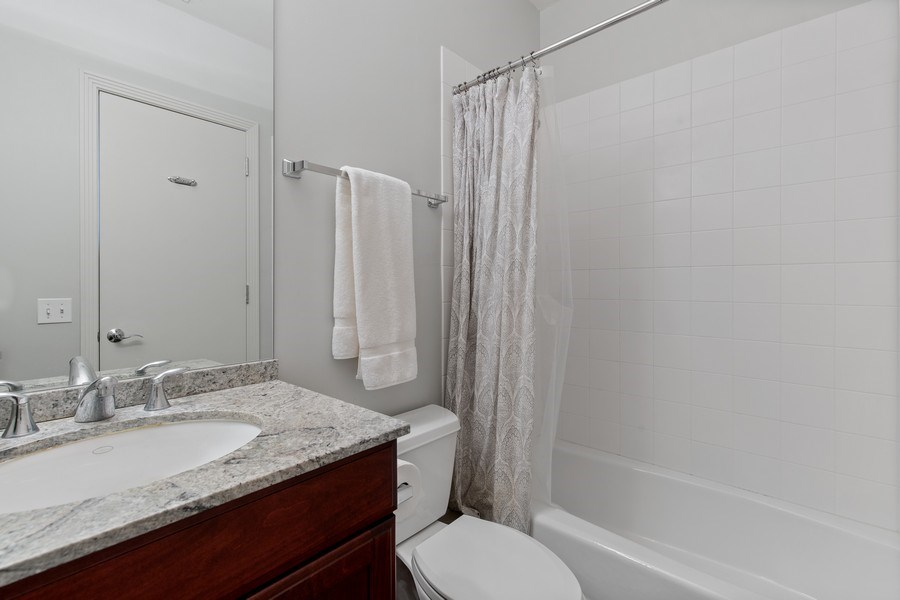 Real Estate Photography - 2656 N Hermitage Ave, Chicago, IL, 60614 - Full Bathroom #2 (off Family Room)