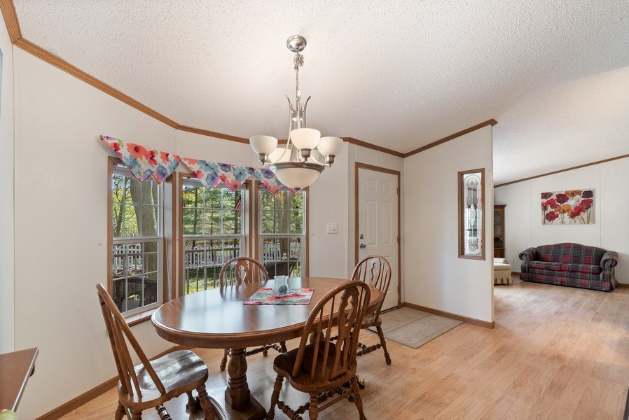Real Estate Photography - 6411 Berrien, Sawyer, MI, 49125 - Dining Room