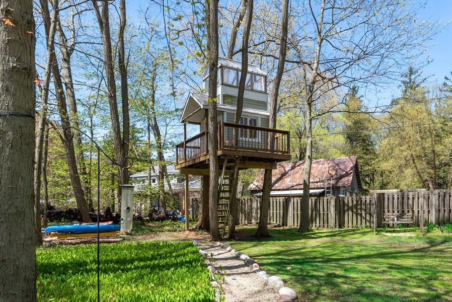 Real Estate Photography - 6411 Berrien, Sawyer, MI, 49125 - Back Yard