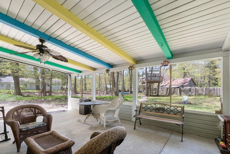 Real Estate Photography - 6411 Berrien, Sawyer, MI, 49125 - Porch