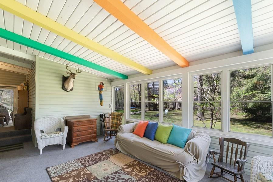 Real Estate Photography - 6411 Berrien, Sawyer, MI, 49125 - Sun Room