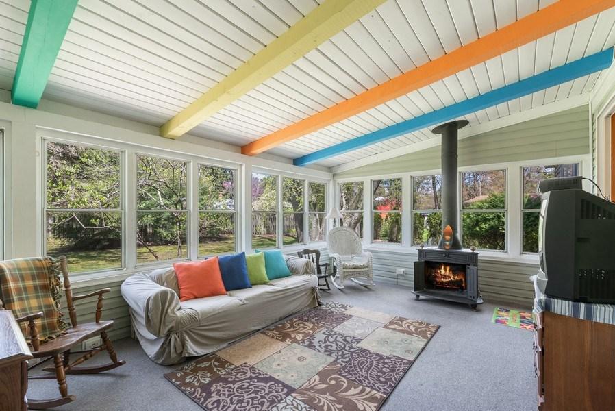 Real Estate Photography - 6411 Berrien, Sawyer, MI, 49125 - Sunroom