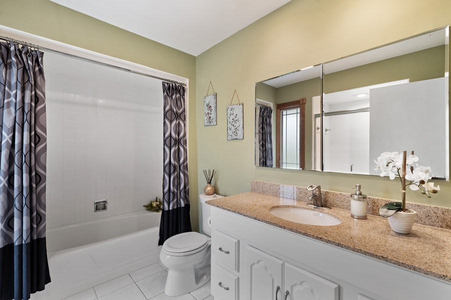 Real Estate Photography - 261 Aspen, Highland Park, IL, 60035 - Master Bathroom