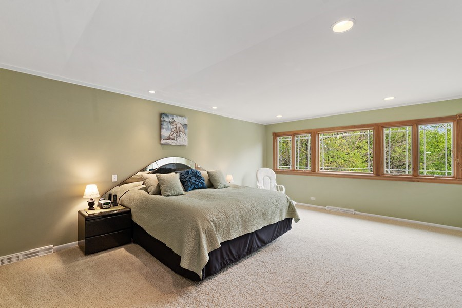 Real Estate Photography - 261 Aspen, Highland Park, IL, 60035 - Master Bedroom