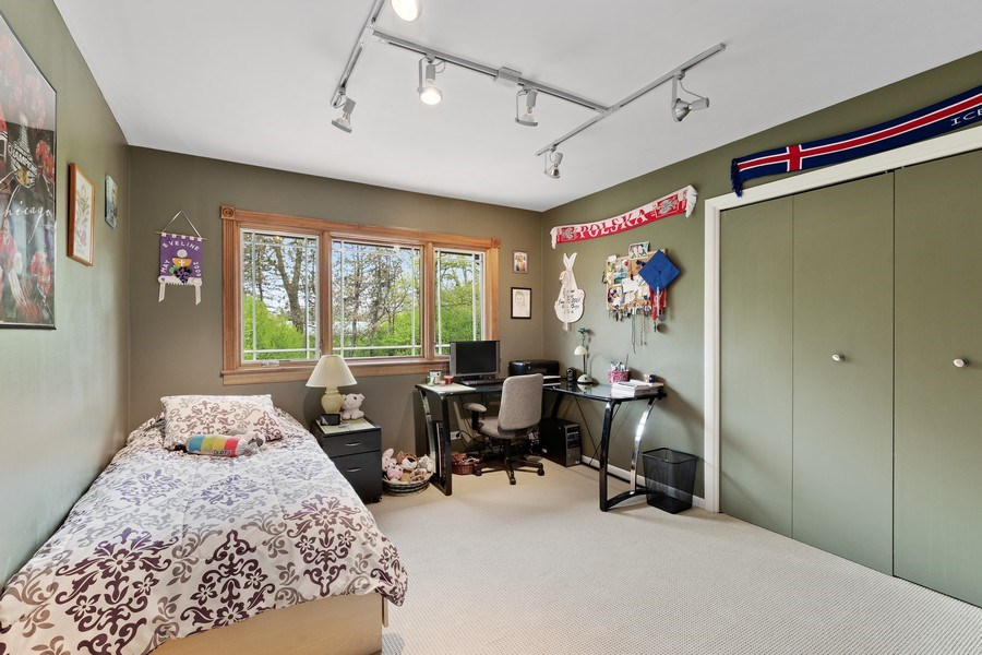 Real Estate Photography - 261 Aspen, Highland Park, IL, 60035 - 2nd Bedroom
