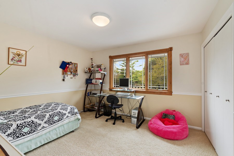 Real Estate Photography - 261 Aspen, Highland Park, IL, 60035 - 3rd Bedroom