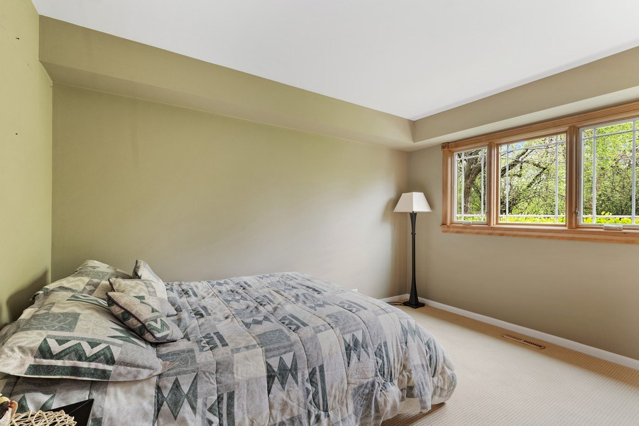 Real Estate Photography - 261 Aspen, Highland Park, IL, 60035 - 1st floor Bedroom