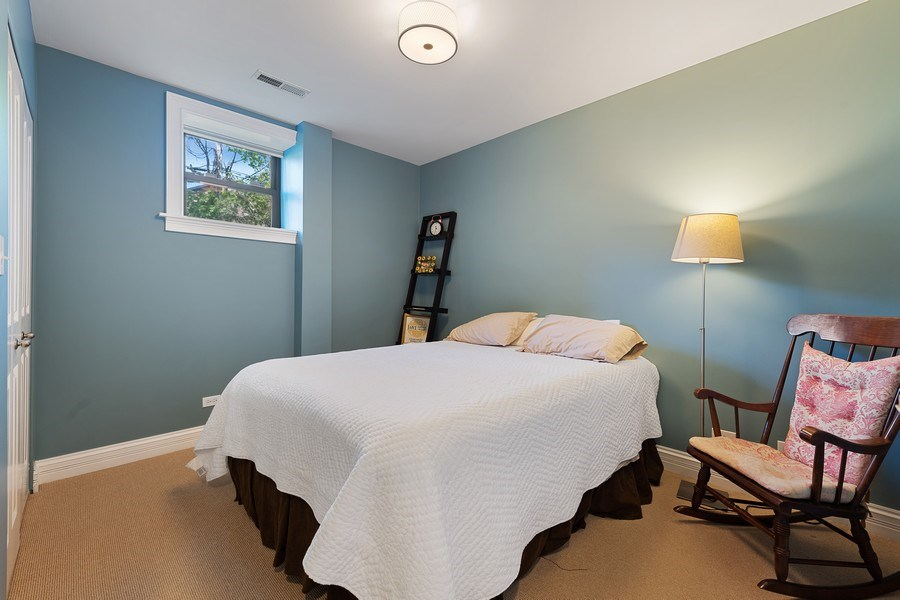 Real Estate Photography - 3508 N Greeenview, Unit 1, Chicago, IL, 60657 - 2nd Bedroom