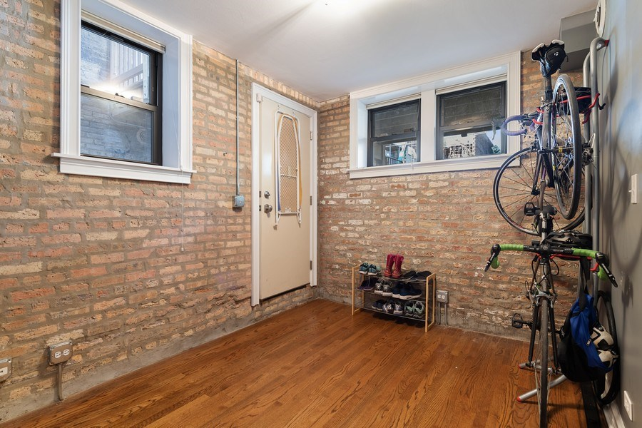 Real Estate Photography - 3508 N Greeenview, Unit 1, Chicago, IL, 60657 - Mudroom