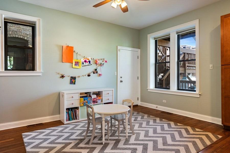 Real Estate Photography - 3508 N Greeenview, Unit 1, Chicago, IL, 60657 -