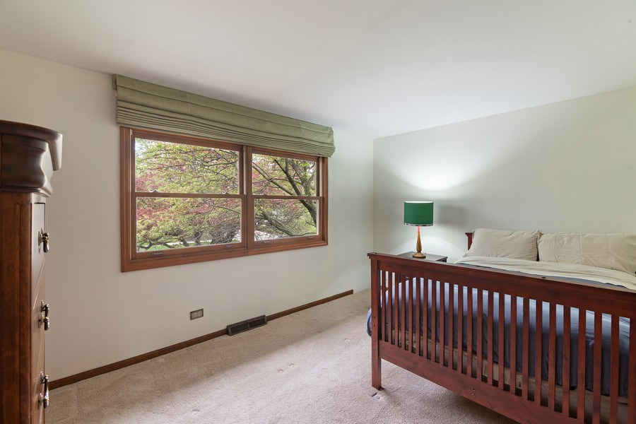 Real Estate Photography - 1224 Brook Ln, Glenview, IL, 60025 - 4th Bedroom