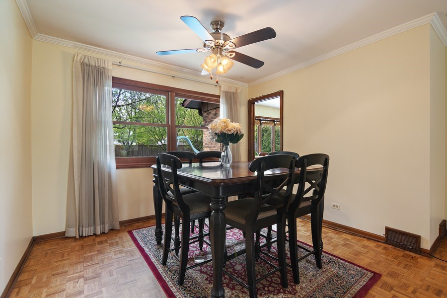 Real Estate Photography - 1224 Brook Ln, Glenview, IL, 60025 - Dining Room