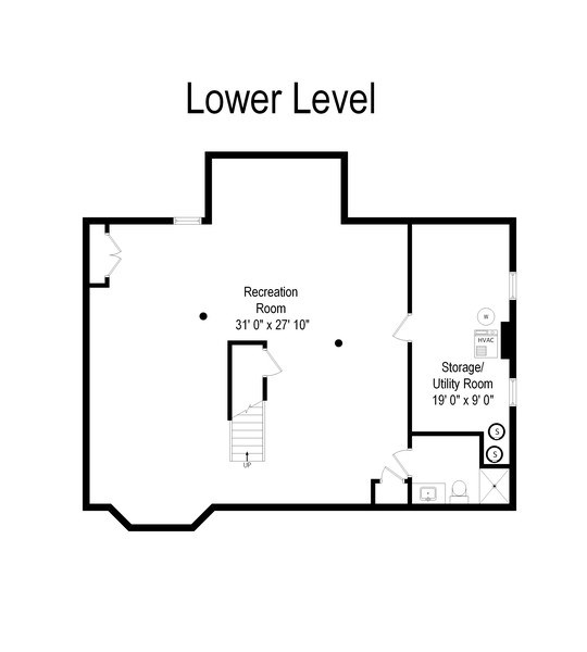 Real Estate Photography - 1224 Brook Ln, Glenview, IL, 60025 - Floor Plan