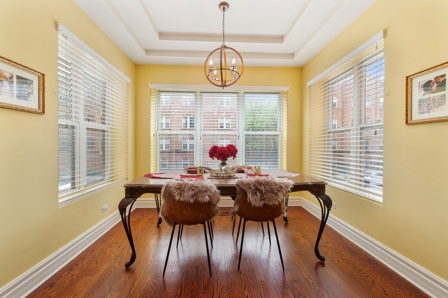 Real Estate Photography - 840 E 52Nd Street, 1E, Chicago, IL, 60615 - Dining Room