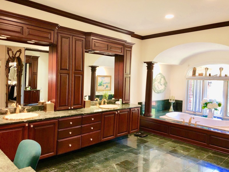 Real Estate Photography - 1390 Kathryn Ln, Lake Forest, IL, 60045 - Master Bathroom
