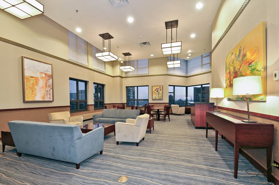 Real Estate Photography - 401 E Ontario St #3207, Chicago, IL, 60611 - Clubhouse