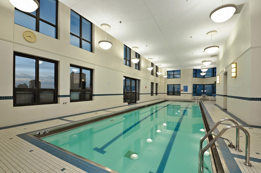 Real Estate Photography - 401 E Ontario St #3207, Chicago, IL, 60611 - Indoor Pool