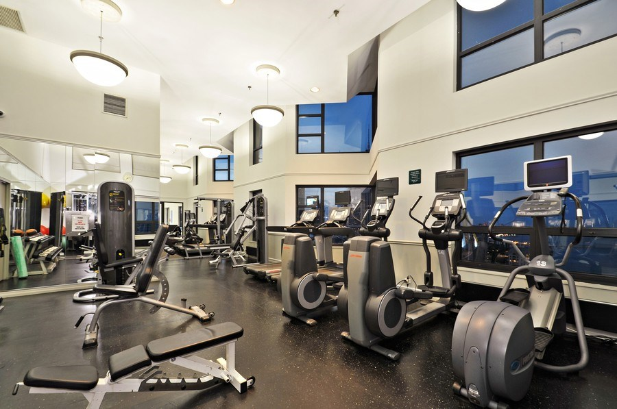 Real Estate Photography - 401 E Ontario St #3207, Chicago, IL, 60611 - Fitness Center