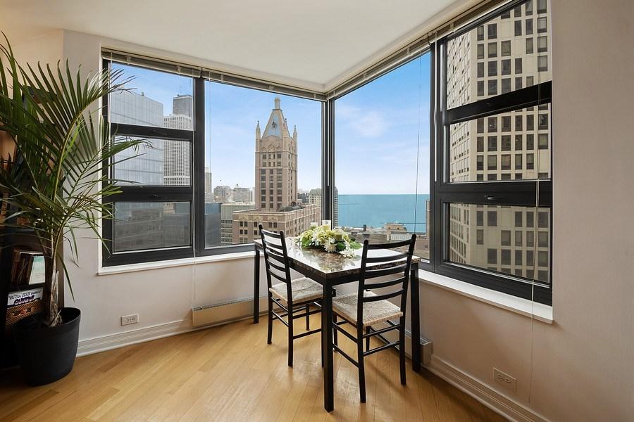 Real Estate Photography - 401 E Ontario St #3207, Chicago, IL, 60611 - Breakfast Area