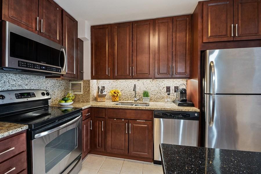 Real Estate Photography - 401 E Ontario St #3207, Chicago, IL, 60611 - Kitchen