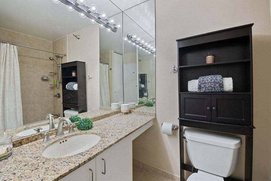 Real Estate Photography - 401 E Ontario St #3207, Chicago, IL, 60611 - Bathroom